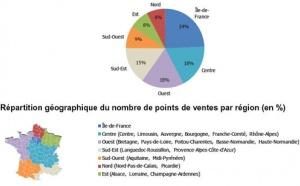 Prédominance : 24% des agences françaises sont en Ile-de-France