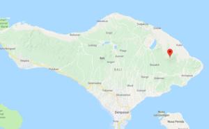 Volcan Bali : éruption du Mont Agung