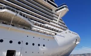 Marseille : à bord du MSC Seaview (vidéo)
