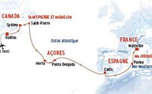 NDS Voyages : une transatlantique Halifax - Marseille en septembre 2011