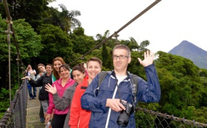JETSET emmène sept agents de voyages au Costa Rica
