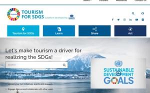 Tourisme durable : l'OMT lance la plateforme Tourism for SDGs