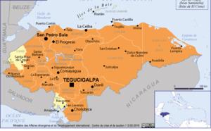 Honduras : le Quai d'Orsay recommande de reporter les voyages