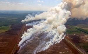 La Lettonie touchée par d'importants incendies
