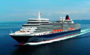 Cunard : Queen Elizabeth baptisé par la Reine d'Angleterre