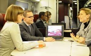 Thalys : des salons privatifs avec le service de la Comfort 1