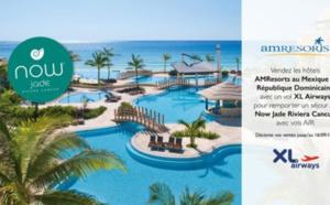 XL Airways et AMResorts font gagner un séjour à Cancun aux agents de voyages