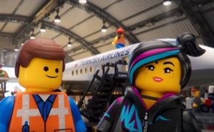Turkish Airlines : Lego monte à bord des avions !