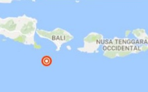 Indonésie : Bali touché par un tremblement de terre