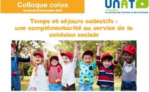 UNAT : colloque sur les colos le 23 novembre 2018 à Paris