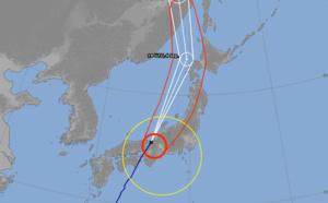 Le typhon Jebi va frapper le Japon