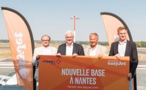 easyjet confirme l'ouverture d'une base à Nantes