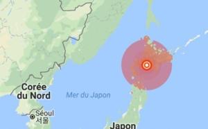 Japon : après le typhon, un violent séisme