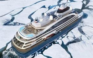 """Ponant : le futur brise-glace baptisé """"Le Commandant Charcot"""""""