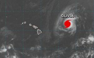 Hawaï : l'Ouragan Olivia s'approche des côtes