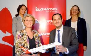 Qantas Airways renforce son équipe commerciale