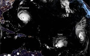 Isaac : la Guadeloupe épargnée, le plan de vols modifié