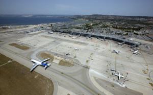 Trafic routier très perturbé autour de l'aéroport Marseille - Provence