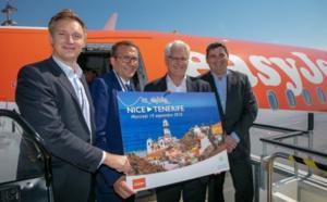 easyjet fête l'arrivée d'un 5e A320 à Nice