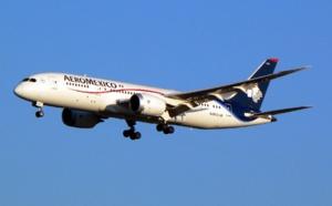 Aeromexico ajoute 2 fréquences entre Paris et Mexico