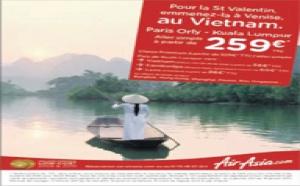 AirAsia X : 259 € TTC l'aller simple entre Paris et Kuala Lumpur