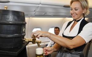 Lufthansa fête Oktoberfest au départ de Munich