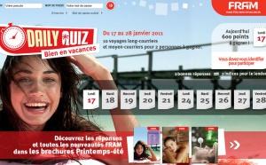 Daily quizz : FRAM fait gagner 10 séjours aux agents de voyages