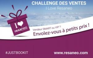 """RESANEO poursuit son opération challenge des ventes """"I love Resaneo"""""""