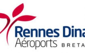 Aéroports de Rennes et Dinard : nouveau logo, et nouvelles destinations en 2011