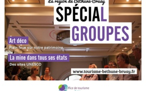 Béthune-Bruay Tourisme sort sa brochure pour les groupes