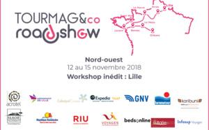 Le TourMaG&Co Roadshow sillonne le Nord-Ouest de la France avec une nouvelle formule