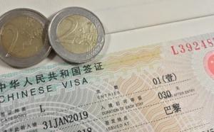 Chine : baisse du prix des visas en urgence