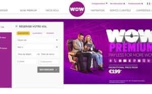 """Wow Air fait la promotion de son """"Big Seat"""""""