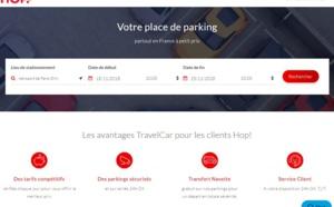 Parking aéroport : HOP! partenaire de Travelcar