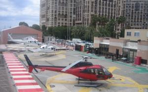 """Monaco : Heli Air met en place son service """"Check and fly"""" dès l'héliport"""