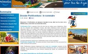Dossier destination: PortAventura à portée de clic !