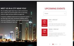 Emirates : journées de recrutement à Paris, Rennes et Lyon