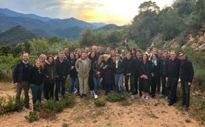 Groupe Linea Voyages : le 1er séminaire du groupe s'est tenu à Porticcio