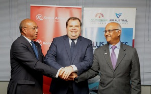 Air Austral, Air Mada et Kenya Airways officialisent leur partenariat