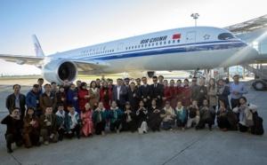 Air China reçoit son sixième Airbus A350-900 à Toulouse