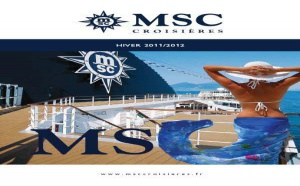 Brochure : MSC Croisières lance Abu Dhabi et les Emirats cet hiver