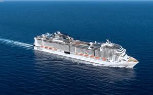 Saint-Nazaire : le MSC Grandiosa mis à flot