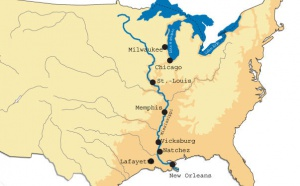 Louisiane : les crues du Mississipi menacent 24.000 personnes mais pas le tourisme