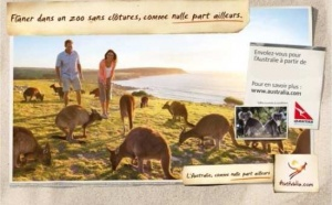 Tourism Australia s'affiche à nouveau dans le métro parisien