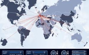 Comptoir des Voyages lance une mappemonde interactive vers ses destinations