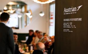 Austrian Airlines installe son café viennois à Paris