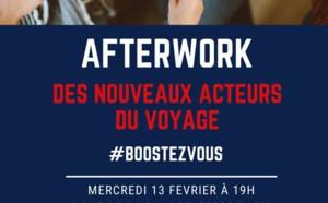 """Nouveaux acteurs du voyage : """"#BoostezVous !"""", thème du prochain afterwork"""