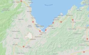 Nouvelle-Zélande : incendie dans la Pigeon Valley