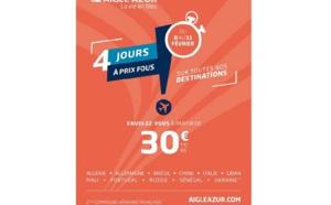 Aigle Azur casse ses prix jusqu'au 11 février 2019