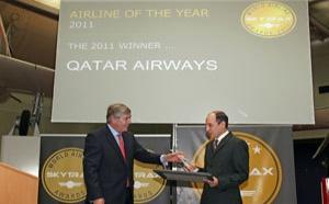 Skytrax Awards : Qatar Airways, élue compagnie aérienne de l'année